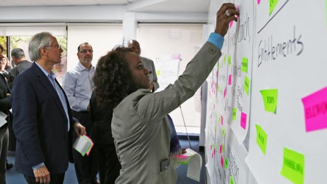 Gather Ideas on board